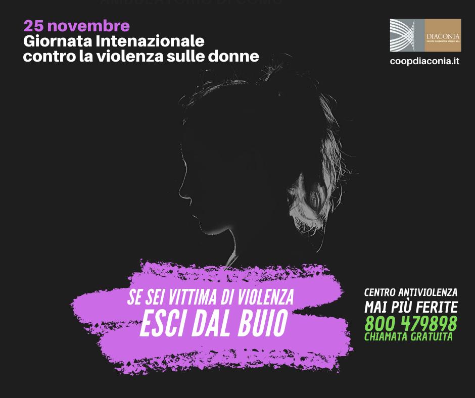 Esci dal Buio: Diaconia accanto alle donne vittime di violenza