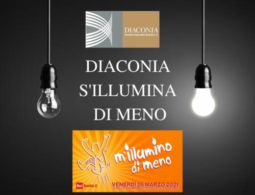 Diaconia s'illumina di meno!